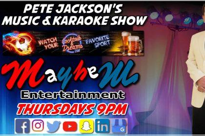 Pete Jackson's Musi & Karaoke Show Cocktails & Dreams Lothiarika Rhodes Greece