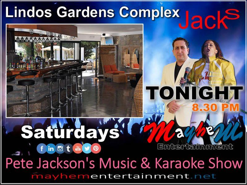 Pete Jackson's Music & Karaoke Show