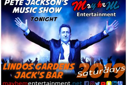 Lindos Gardens Saturday Nights with Pete Jackson's Music & Karaoke Show