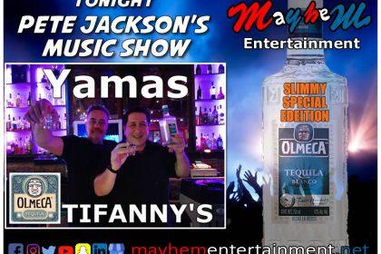tequila Omega Pete Jackson's Music & Karaoke Show