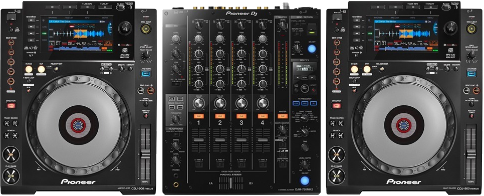 Pioneer CDJ 900 Nexus Turntables Decks Mixer