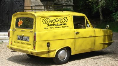 Trotters Independent Traders 3 Wheel Van