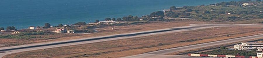 RHO Rhoes Greece airport shut 2020