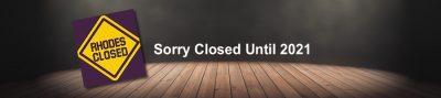 entertainment closed until 2021