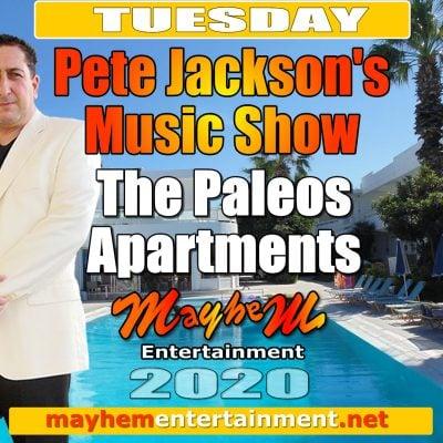 Paleos Apartments Pete Jackson's Music Show
