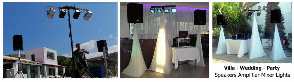 sound lighting packages
