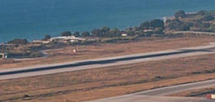 RHO Rhoes Greece airport shut 2020