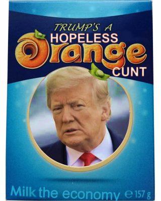 Terry's Chocolate Orange Trump
