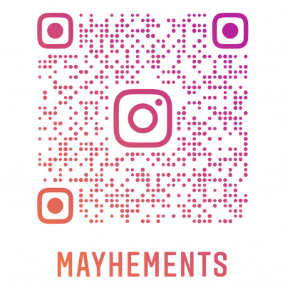 Mahements on Instagram scan this image