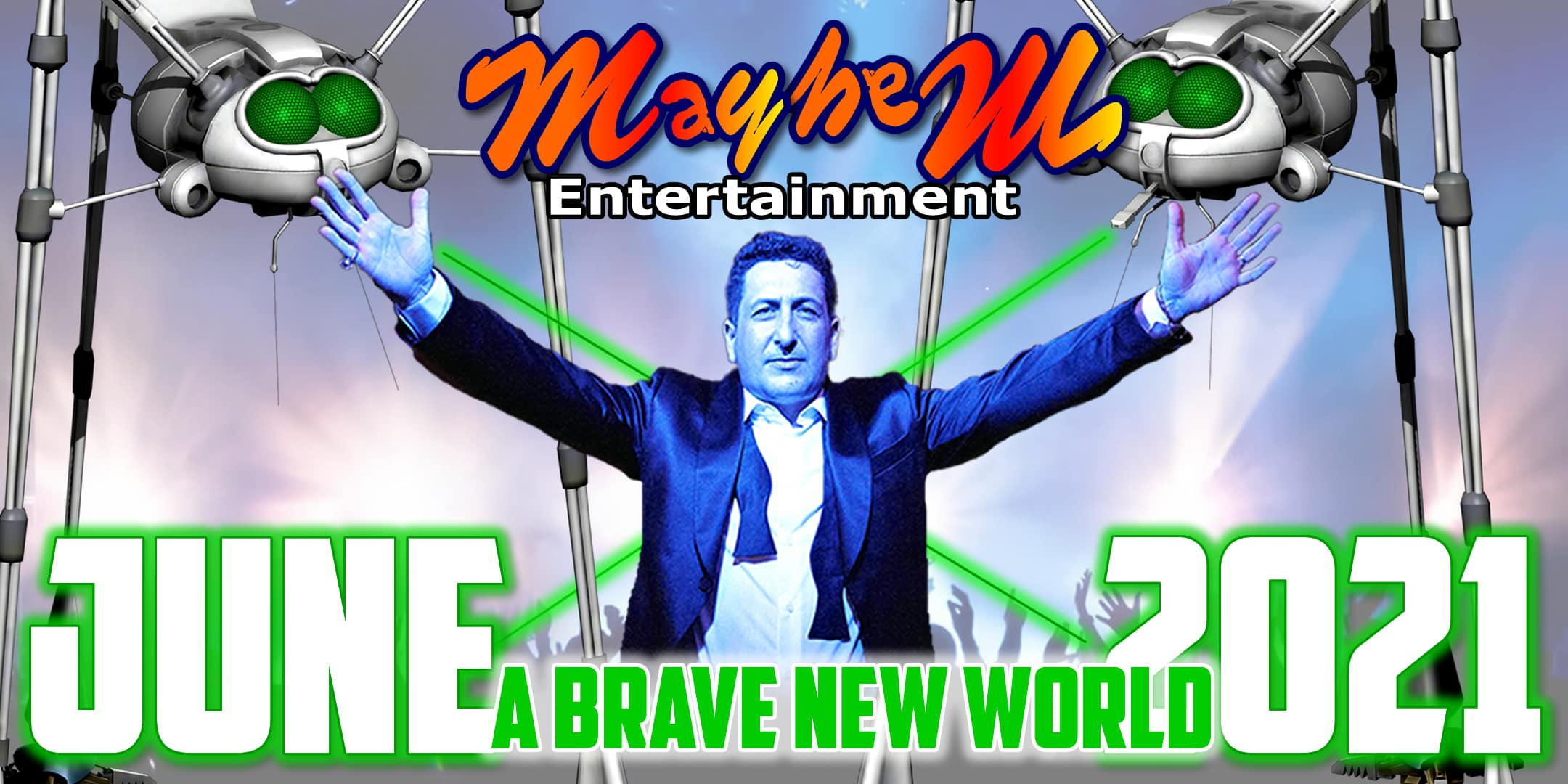 Pete Jackson's Music Show 2021 A Brave New World