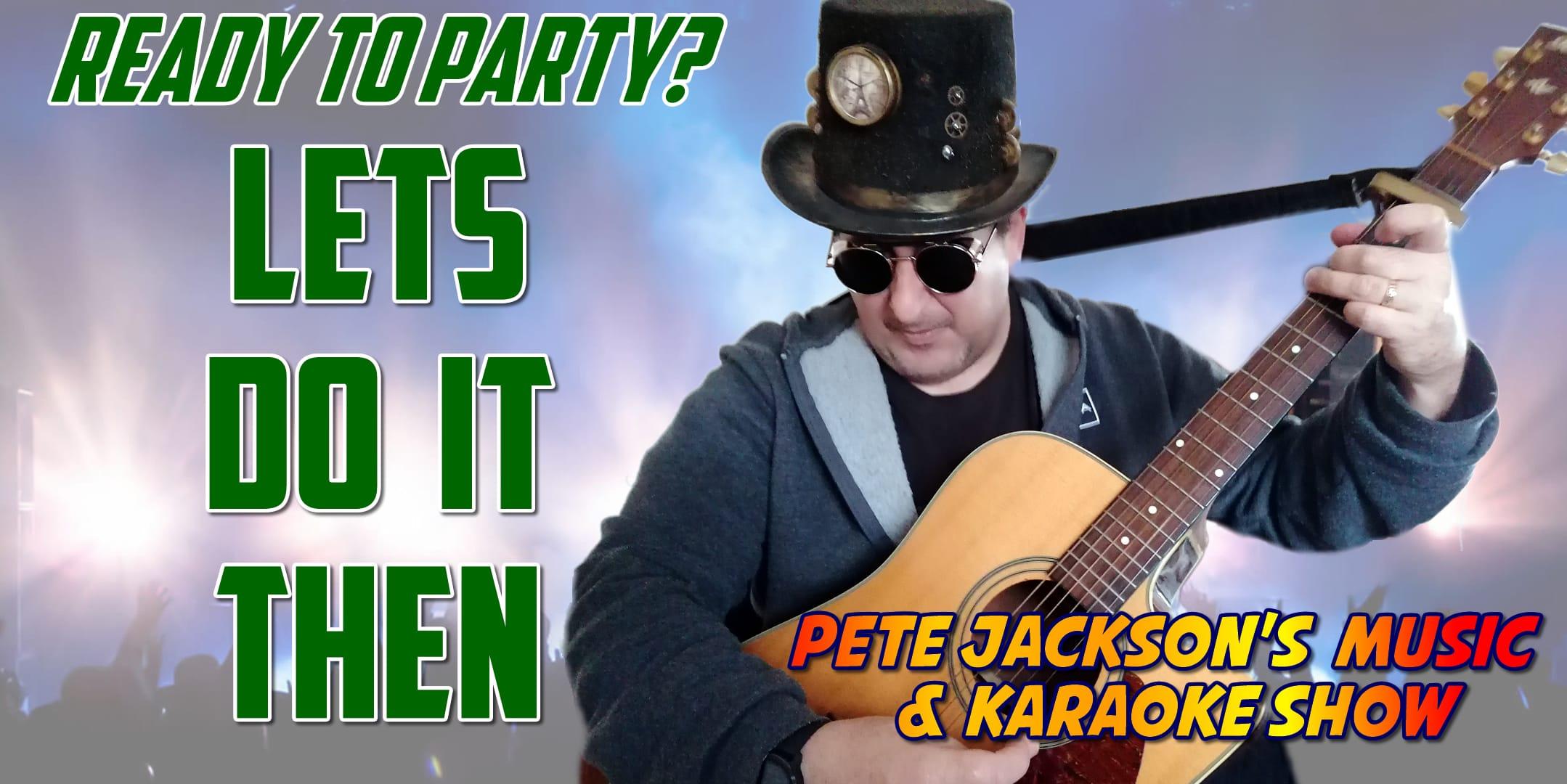 Pete Jackson's Music Show