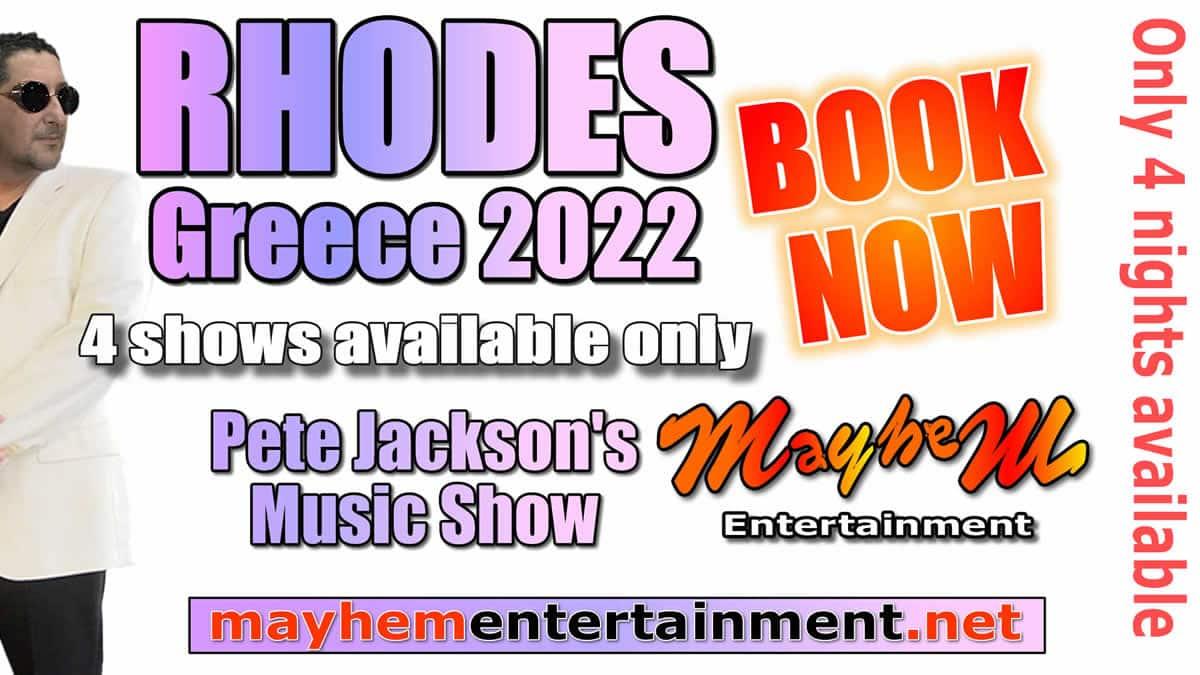 Pete Jackson's Music & Karaoke Show for 2022